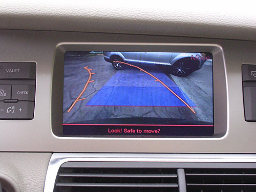 Backup Camera Screen